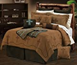 HiEnd Accents Crosses Western Bedding Set, Super King