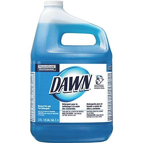Dawn Professional 57445CT Manual Pot & Pan Dish Detergent Original 4/Carton - Gamble Manual Dishwashing Detergent
