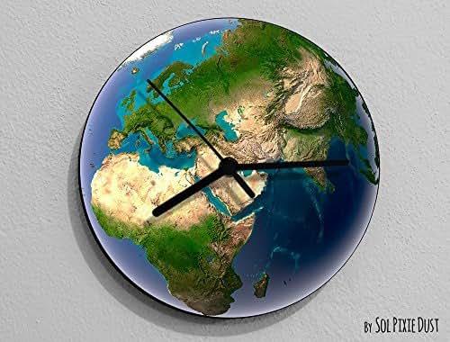 Earth Europe - Planet Wall Clock