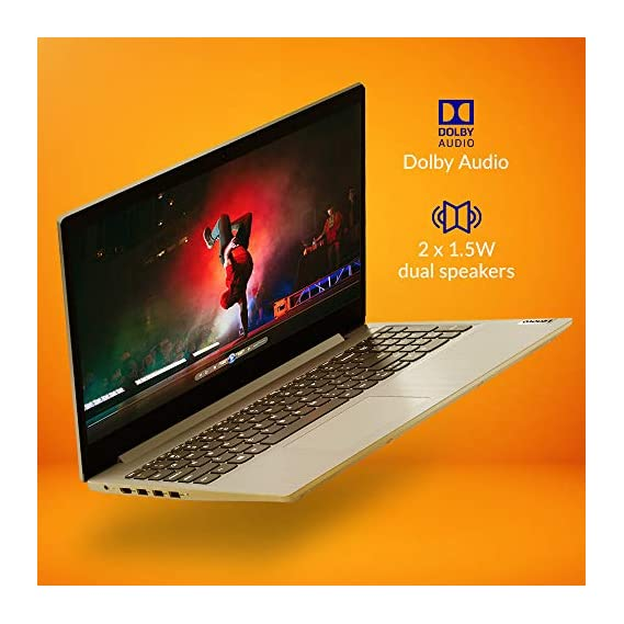 Lenovo Ideapad Slim 3 10th Gen Intel Core i3 15.6 inch Full HD Thin and Light Laptop (8GB/1TB HDD/Windows 10/Platinum Grey/1.85Kg), 81WE00Q5IN