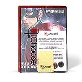 Apple iPad 2/3/4 Folio Avengers Case / Protective PU Leather Smart Flip Cover / iCHOOSE / Captain America