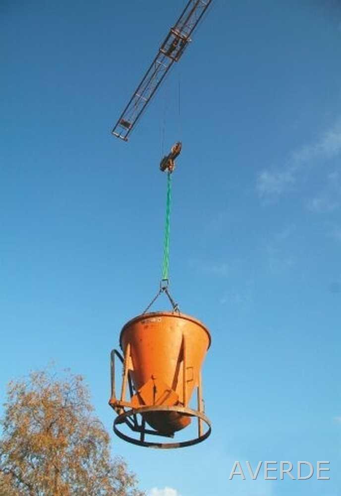 Kerbl Elingue Double Boucle 6 m// 90 mm//Jaune// 3 000 kg// 6 000 kg