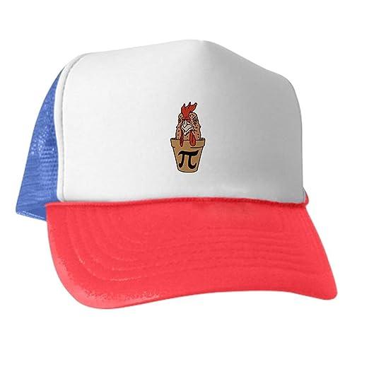 Amazon.com  CafePress - Chicken Pot Pi - Trucker Hat 62d1c47b2500