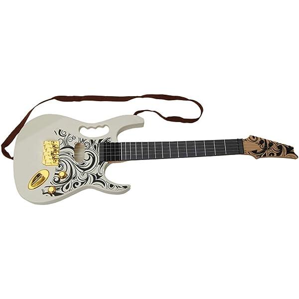 Guitarra Eléctrica imitación realista de 67 cm: Amazon.es ...