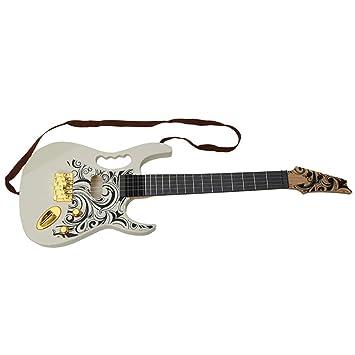 Guitarra Eléctrica imitación realista de 67 cm: Amazon.es: Juguetes y juegos