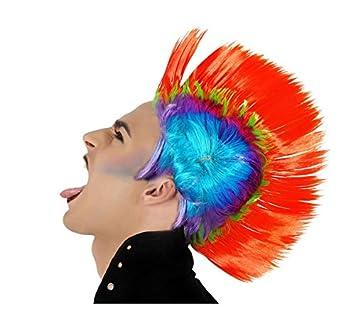 Atosa C/peluca punky colores