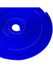 Conext Link 25 FT 8 AWG GA Full Gauge Battery Power Cable Ground Wire Frost Blue OFC Copper