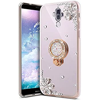 Amazon.com: ikasus Case for Huawei Mate 9 Case Girls Sparkly ...