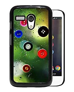 New Beautiful Custom Designed Cover Case For Motorola Moto G With Glass Buttons Phone Case