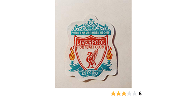 Liverpool Footbal Club Patch Badge Embroidered Iron on Applique Souvenir Accessory