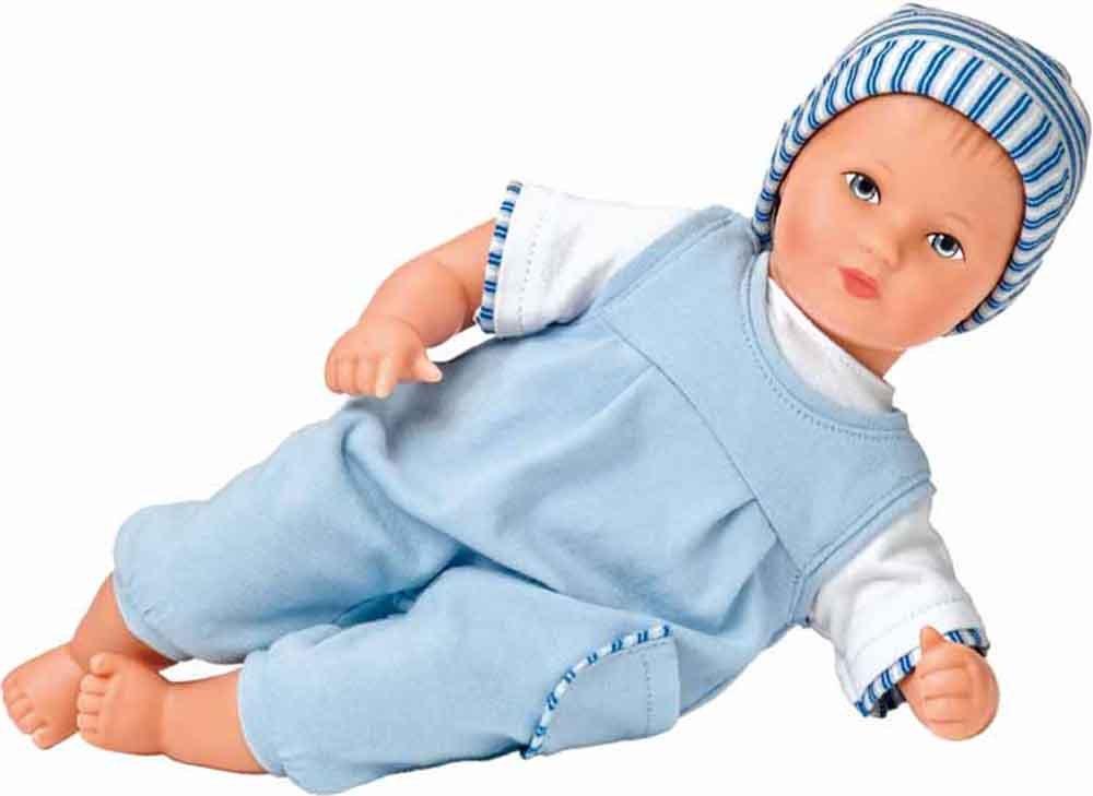 Käthe Kruse 36605 - Mini Bambina Linus, hellblau 136605