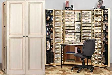 Craft Storage Workbox With Table Amazoncouk Kitchen Home