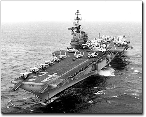 USS Franklin D. Roosevelt CVA-42 8x10 Silver Halide Photo Print
