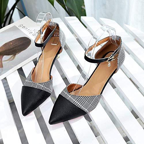 Tamaño Ayudar Otoño Nuevas De Los Madre Casual Verano 44 Y Negro Bajo Zapatos Guisantes color Mujer Para Hhgold Planos Zapatillas 34 Cuero Grande Azul A ACwxU7Wq