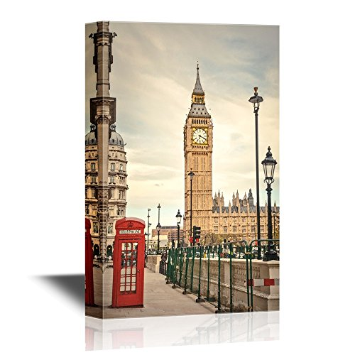 Watercolor Style London Landmarks