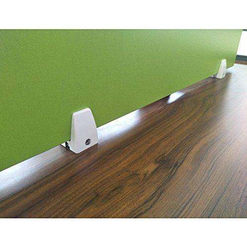 Whale Gogo 4 Pieces Office Desk Divider Clamp Bracket Desk