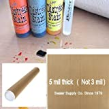 5 X Sealer Supply 15'' x 18'' PTFE Teflon Craft Sheet 5 Mils thick MADE IN USA Shipped in mailing tube