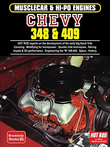 Chevy 348 & 409 Musclecar & Hi-Po Engines (Musclecar & Hi Po Engines Series)