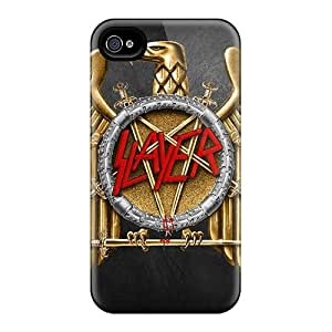 Shock-Absorbing Cell-phone Hard Cover For Iphone 4/4s (Qup7781IKOO) Unique Design Beautiful Slayer Skin