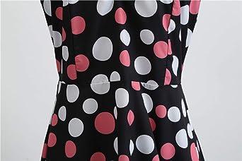 KELUOSI damska suknia wieczorowa bez rękawÓw sukienka do jazdy na deskorolce A-Line Swing wiosna sukienka na imprezę sukienka koktajlowa: Odzież