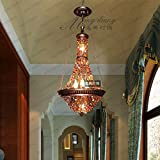 Southeast Asian Thai style bar cafe crystal pendant lamp Mediterranean Bohemia restaurant LO11604PY