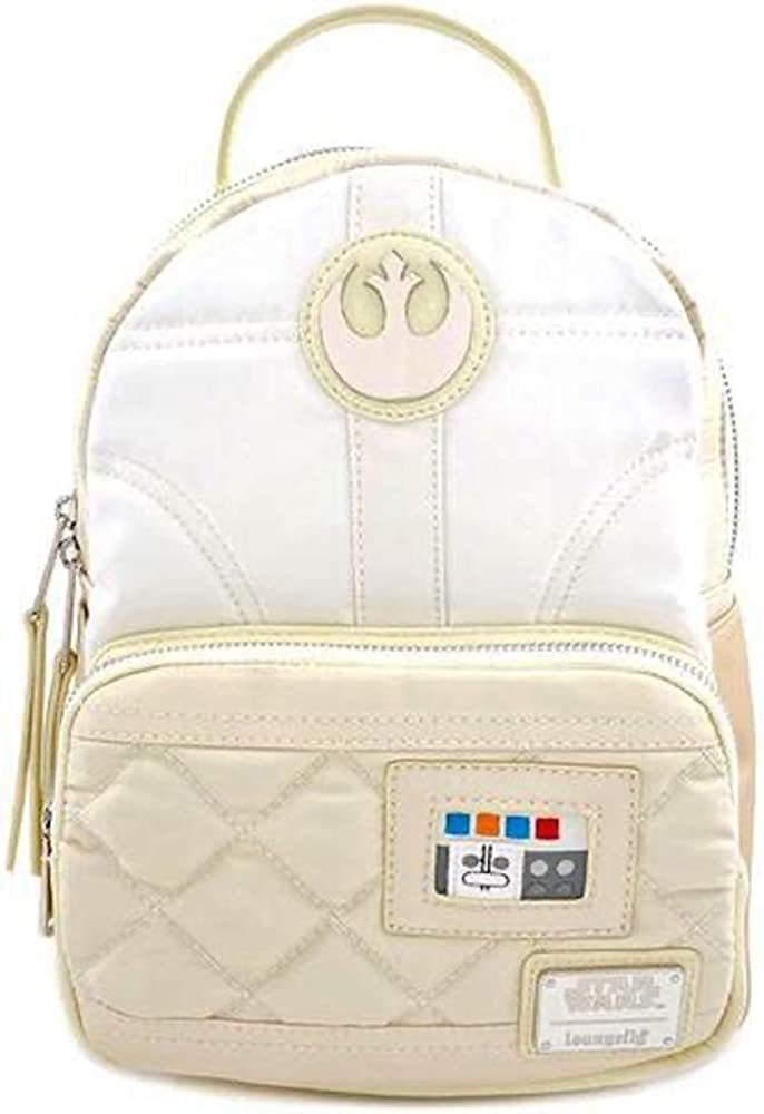 Loungefly x Star Wars Princess Leia Satin Mini Backpack