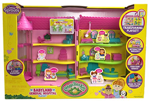 Cabbage Patch Kids Babyland General Hospital Play Set (Little Sprout Collection)