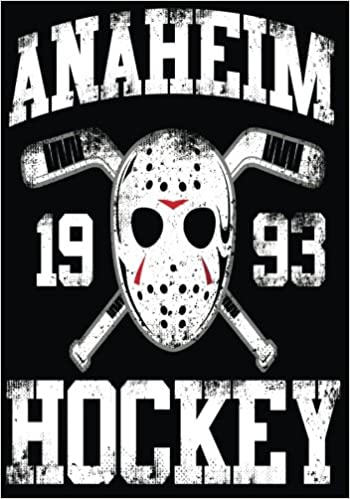 Anaheim 1993 Hockey: Hockey Books For Kids, Journal & Personal Stats Tracker, 100 Games, 7 x 10
