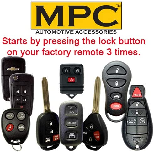 Firmware Preloaded Push-to-Start MPC Factory Remote Activated Remote Start Kit for 2013-2019 Hyundai Santa Fe
