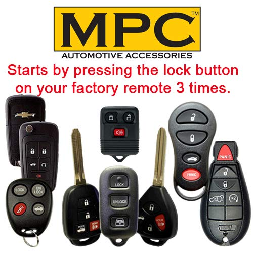 Firmware Preloaded Key-to-Start MPC Factory Remote Activated Remote Start Kit for 2007-2010 Ford Edge Prewired Gas