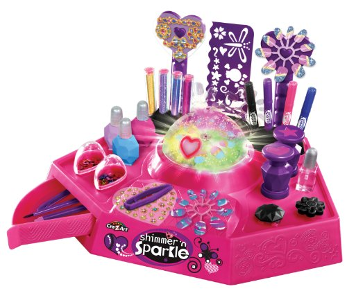 Cra Z Art Shimmer n' Sparkle Nail and Tattoo Studio (Tattoo Maker For Kids)