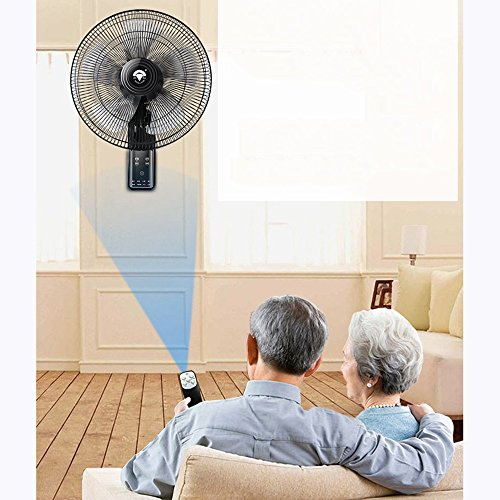 ZZHDDP Ruhiger an der Wand befestigter praktischer Ventilator / Industrie-Restaurant, das seinen Kopf rüttelt / Wand-Fans / mit Fernbedienung / Schlafsaal-Raum / Fabrik-Gebäude / elektrischer Ventilat B