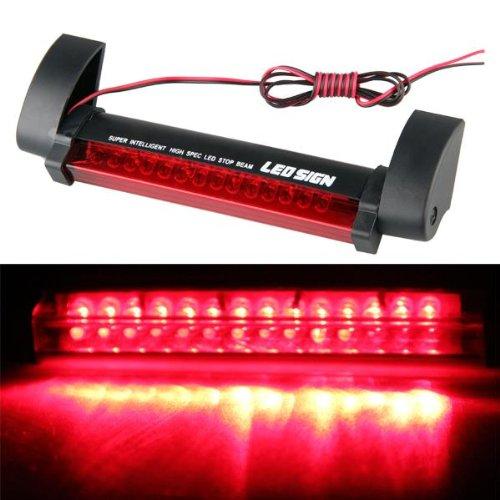 KFZ Rot 14 LED Dritte Bremsleuchte Auto 3te Bremslicht Stopplicht 12V