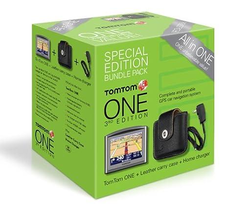 Amazon.com: TomTom One 3ª edición Special-Edition Bundle ...