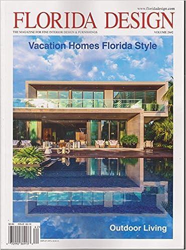Florida Design Magazine Volume Number Amazon Com Books