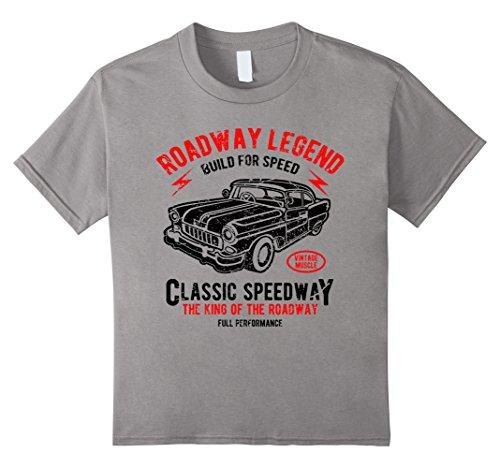 Kids Vintage Car T-shirt (hot rod shirt) 6 (Youth Hot Rod)