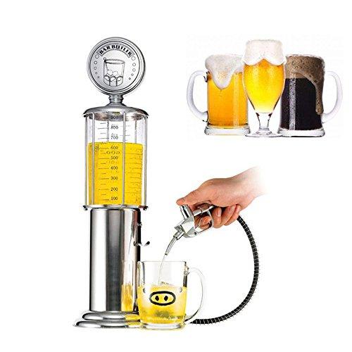 Dispensador de bebidas surtidor 900 ml Bar Butler en cromado Nostalgie US un diseño nostálgico con válvulas de Zapf y grifo de cerveza grifo para cerveza y ...