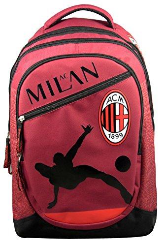 Rucksack AC Mailand–Offizielle Kollektion Mailand AC–Fußball