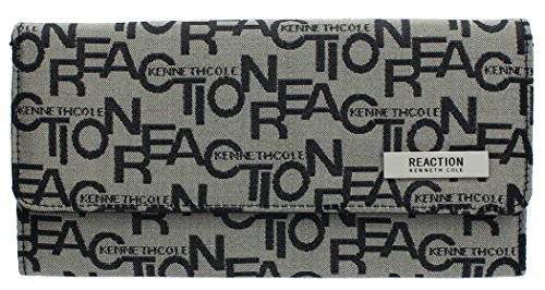 kenneth-cole-reaction-trifold-clutch-tri-ed-true-jacquard-black-coffee