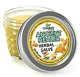 ANCIENT HEALER SALVE JAR 4 OZ - HERBAL SALVE FROM CREATION FARM