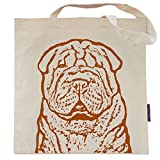 Pumpkin the Chinese Shar Pei Tote Bag by Pet Studio Art