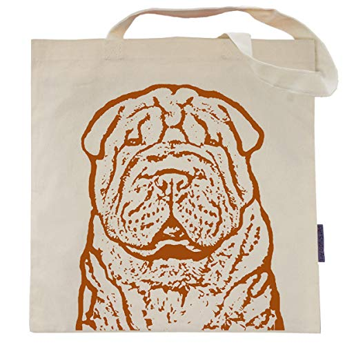 Pumpkin the Chinese Shar Pei Tote Bag by Pet Studio Art ()
