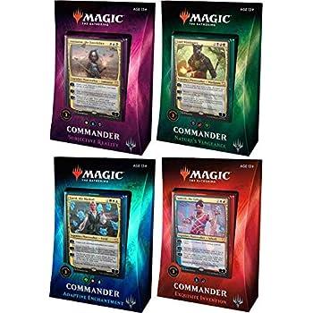 Magic: the Gathering MTG 2018 Commander Set - All 4 Decks