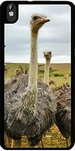Funda para Htc Desire 816 - Pájaro Animal Avestruz by WonderfulDreamPicture