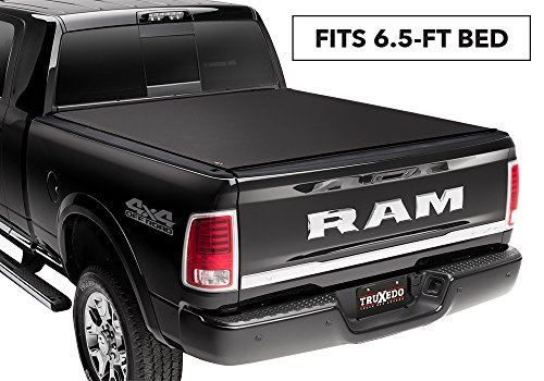 - TruXedo Pro X15 Soft Roll Up Truck Bed Tonneau Cover | 1446901 | fits 2009-2018, 2019 Classic Dodge Ram 1500/2500/3500, 6.4' Bed