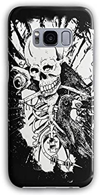 Rock cráneo Cuervo Esqueleto Horror Cuervo 3d s5 S6 S6 Edge S6 ...