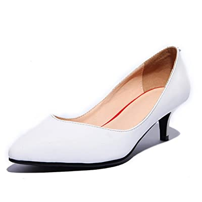 AdeeSu Womens No-Closure Pointed-Toe Formal Leather Loafers Shoes SDC03845