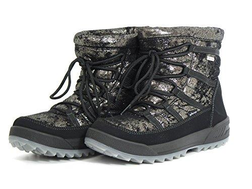 Women Boots schwarz 31329 gold 11 Ankle Vista schwarz SW dqExZwHHUI