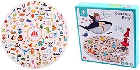 MXECO Detective Small Party To Find Pictures Juego Focus Training Niños Educación temprana Juegos de Mesa Rompecabezas Juguetes educativos: Amazon.es: Juguetes y juegos