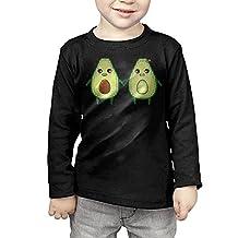 Kelmo Toddler Long Sleeve Tee Avocado Couple CasualT Shirt Black